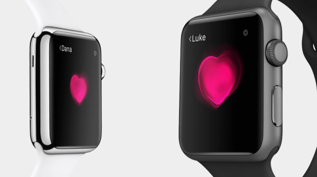 apple watch share heart beat