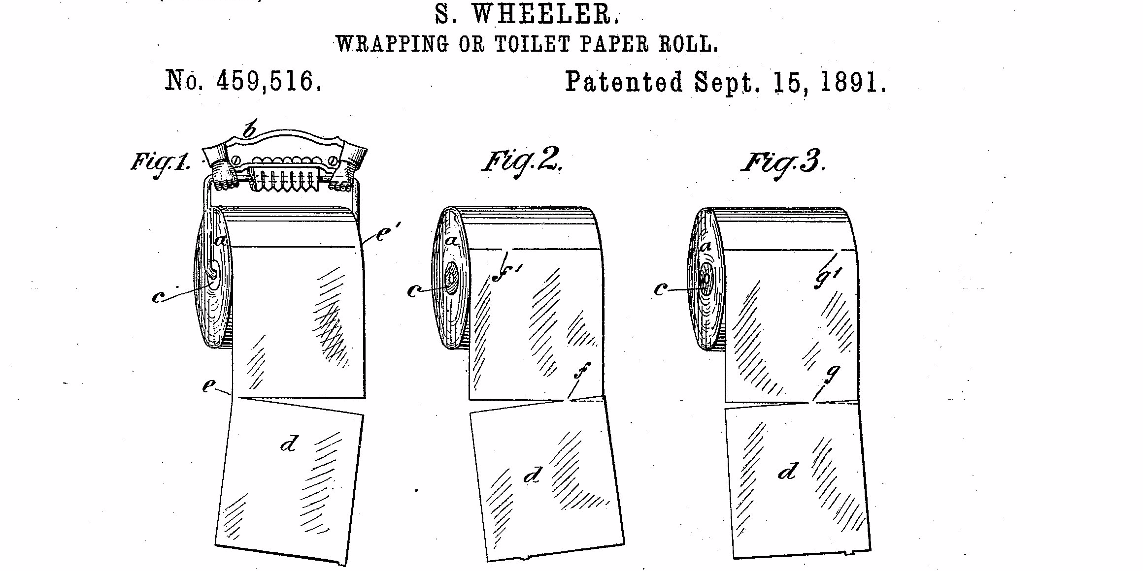 Patent Shows Right Way To Hang Toilet Paper