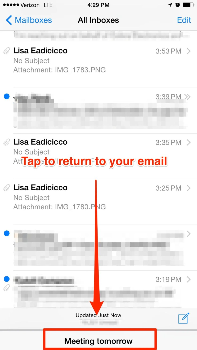 Multitask within emails.