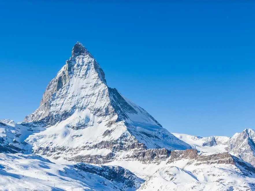 Matterhorn, Switzerland and Italy