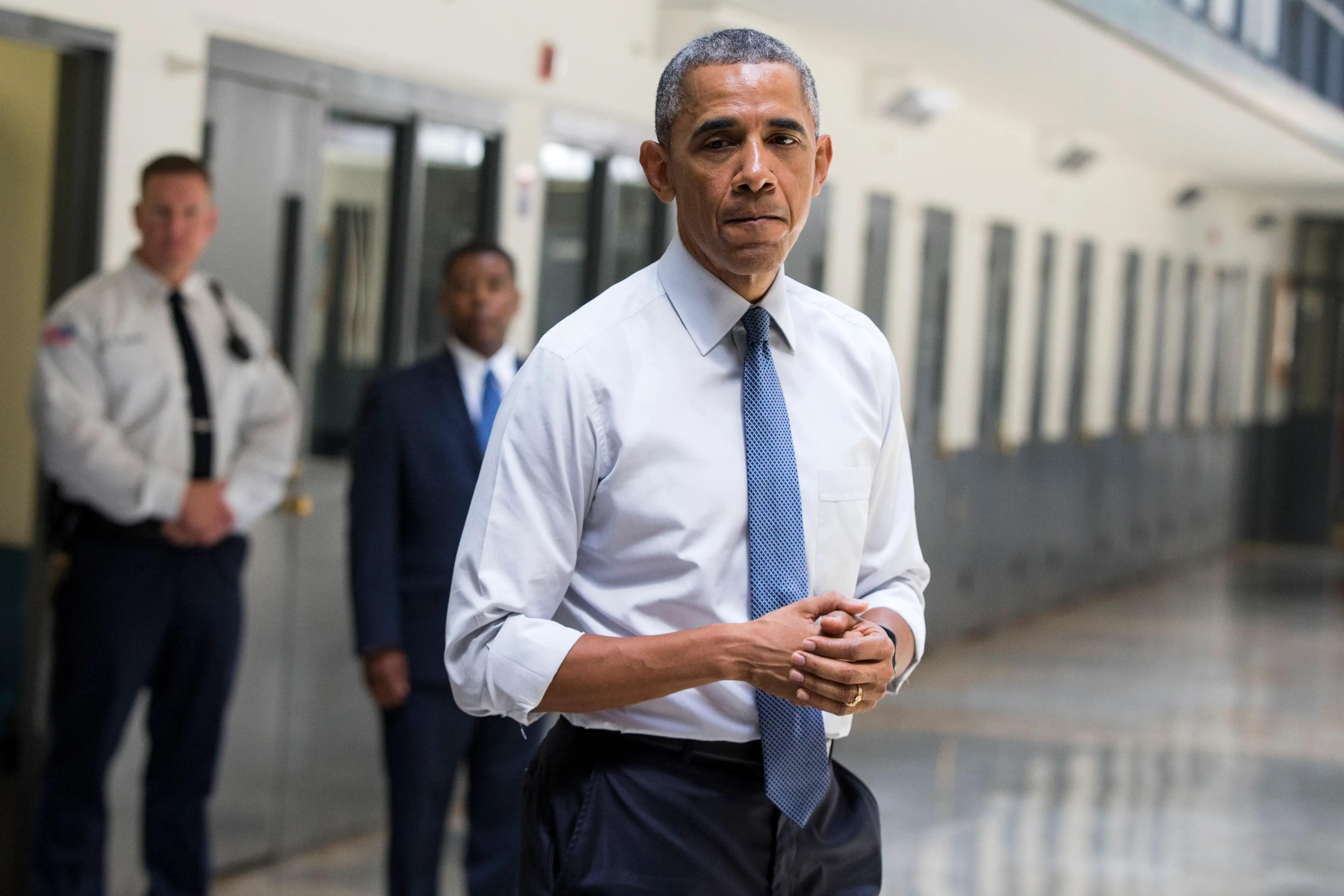 Barack Obama prison