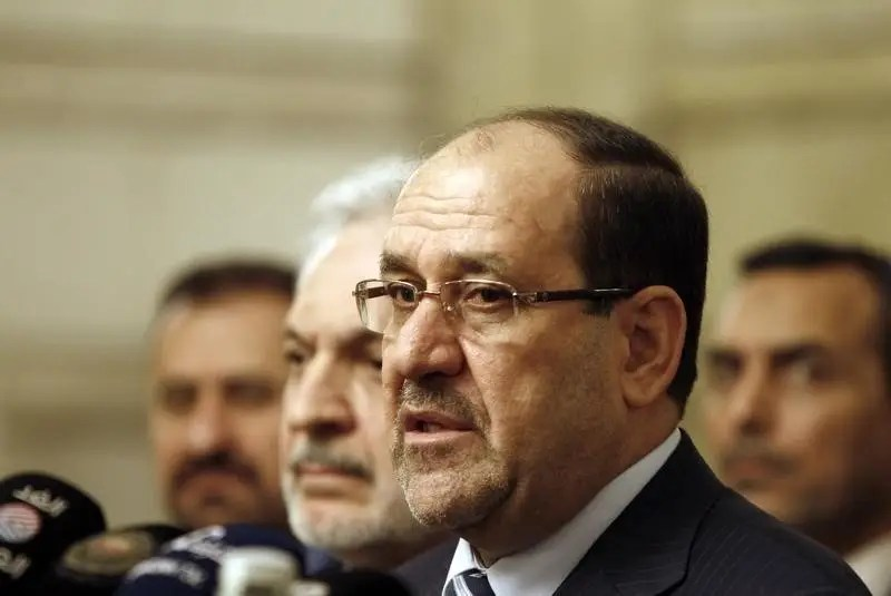 Iraqi Vice President Nuri al-Maliki speaks during a news conference in Baghdad, November 29, 2014. REUTERS/Ahmed Saad