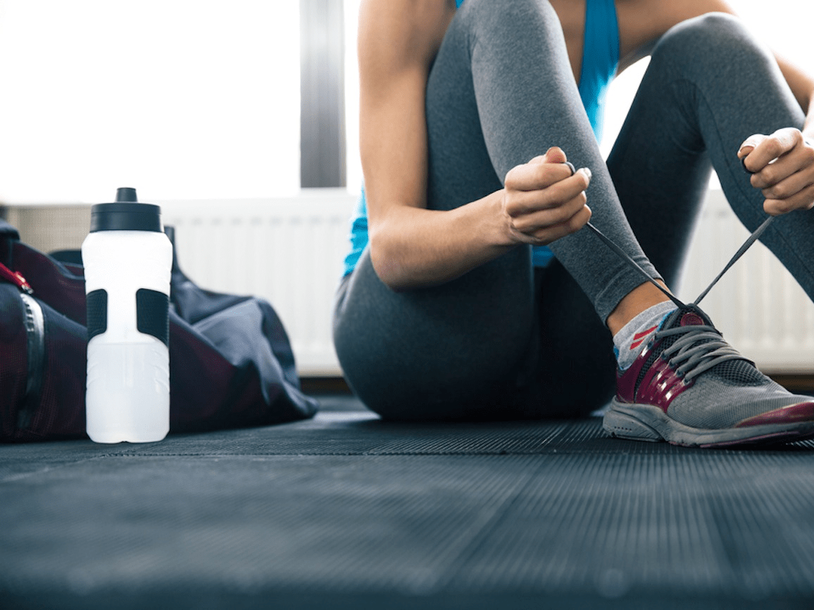 sneakers exercise gym workout
