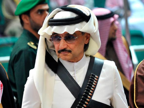 30. Alwaleed bin Talal bin Abdul Aziz al Saud
