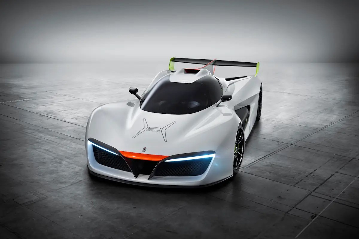 9. Italian automaker Pininfarina unveiled a beautiful hydrogen-powered concept car at the Geneva Motor Show.