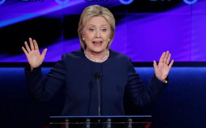 1. Hillary Clinton, Democrat, former secretary of state