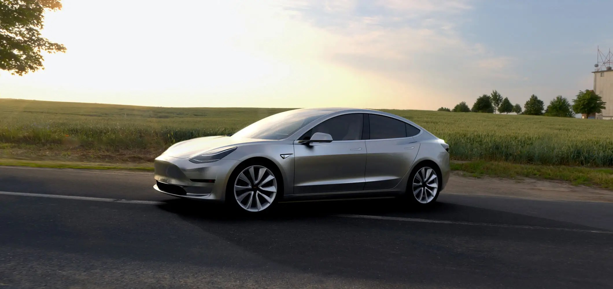 1. The first feature should make anyone excited: Tesla's Model 3 starts $35,000, and that's before federal tax exemptions.