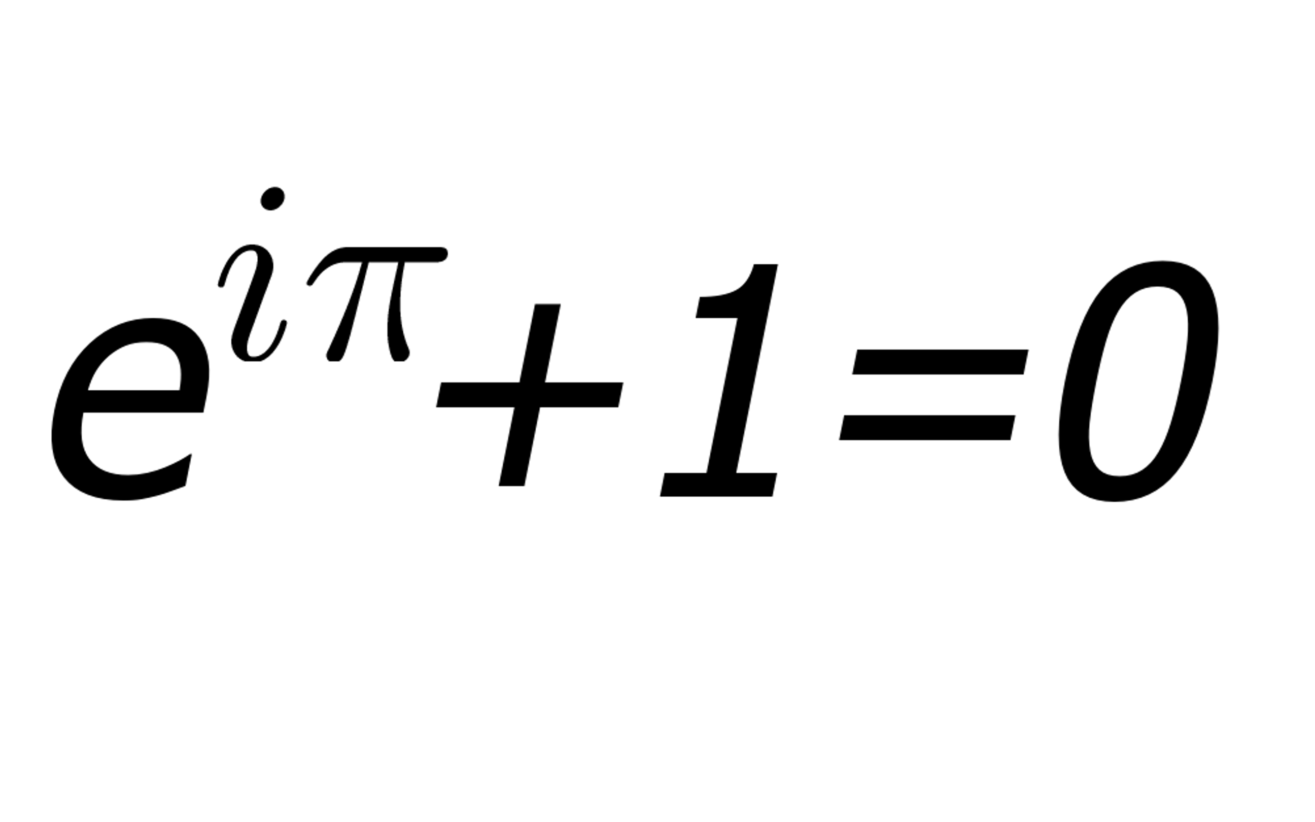 The most beautiful math equations, according to the