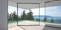 Sliding glass door can turn corners - Business Insider