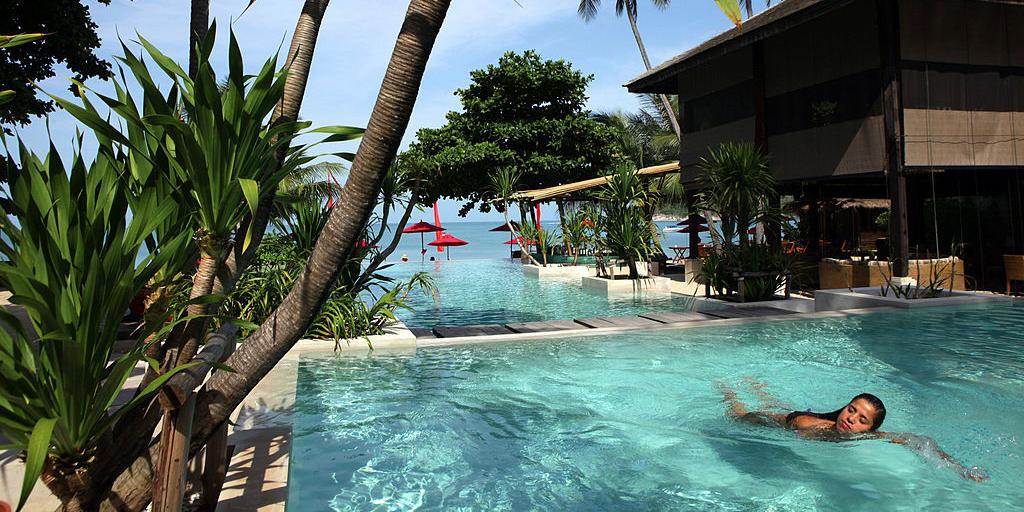 Thai resort living