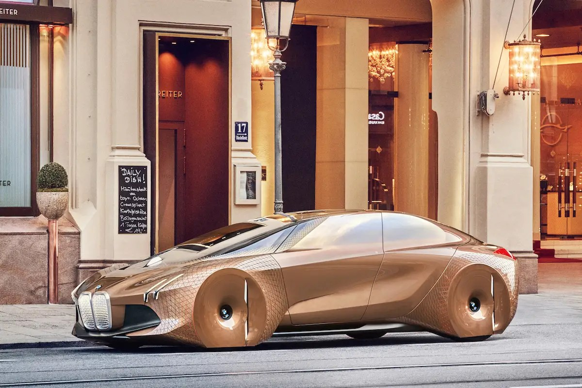 5. BMW's Vision Next 100 was unveiled at the Geneva Motor Show in March. It comes with an AI system called Companion that can learn your driving preferences and adjust accordingly in advance.