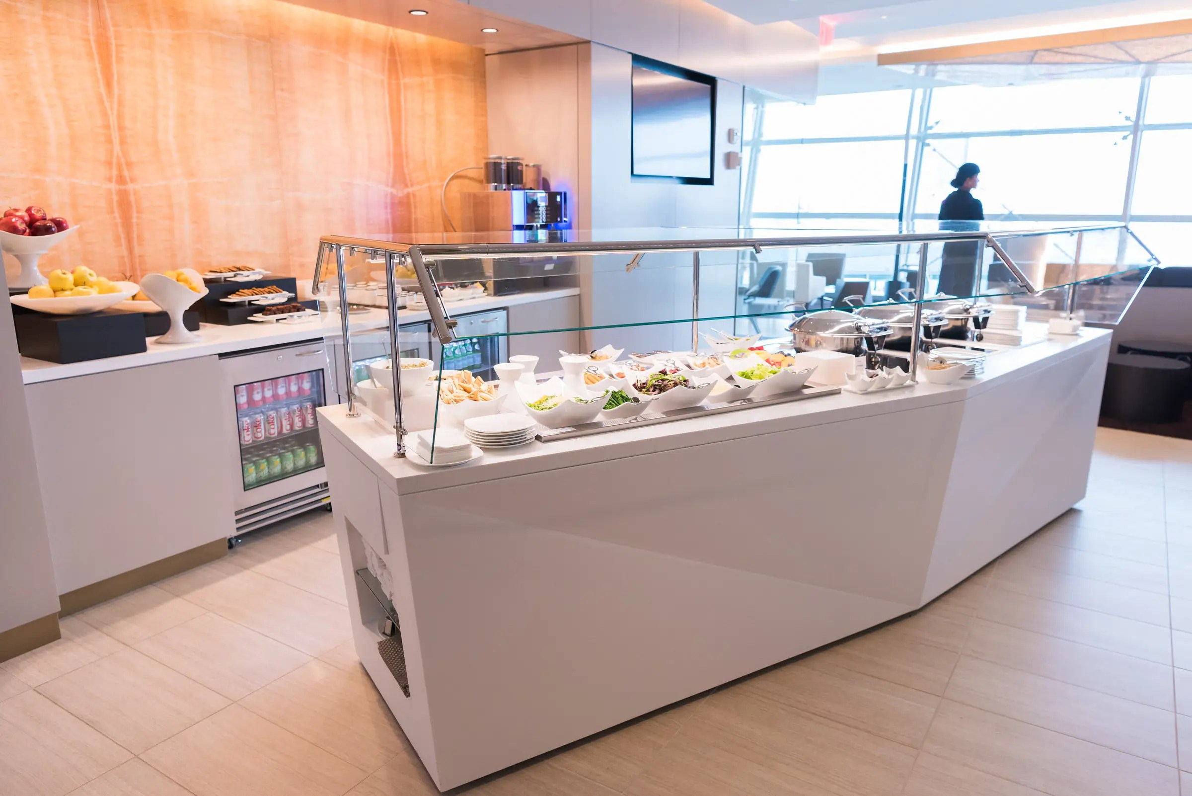 Guests are treated to a variety of dishes available in a buffet or a la carte.