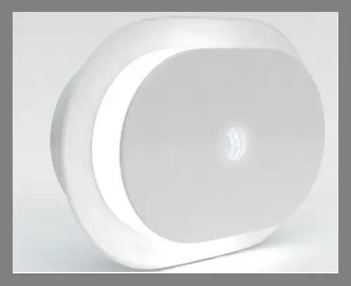 A motion-sensing light
