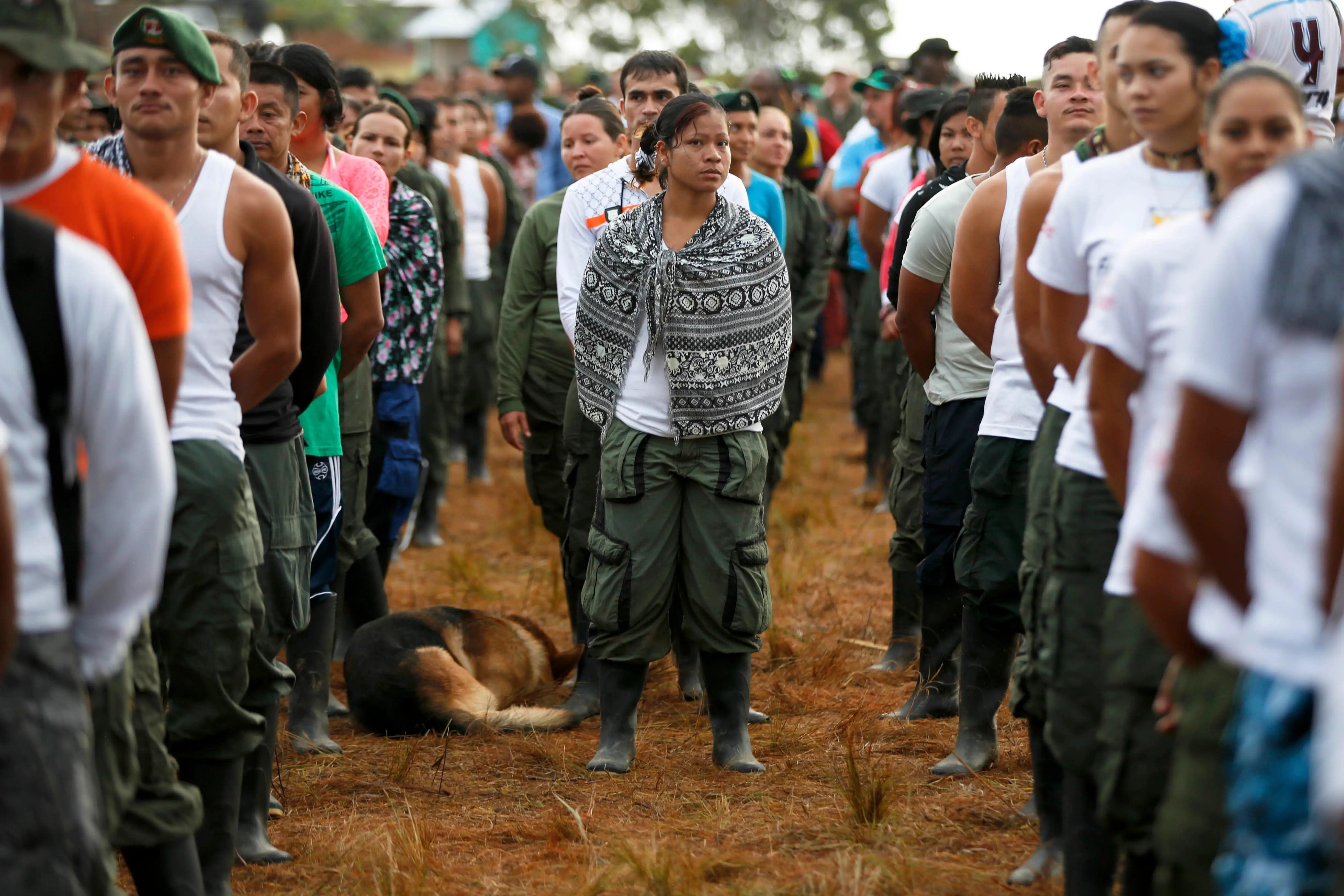 FARC rebels Colombia peace plan demobilization