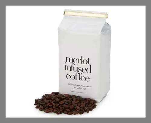 A Merlot-infused coffee blend