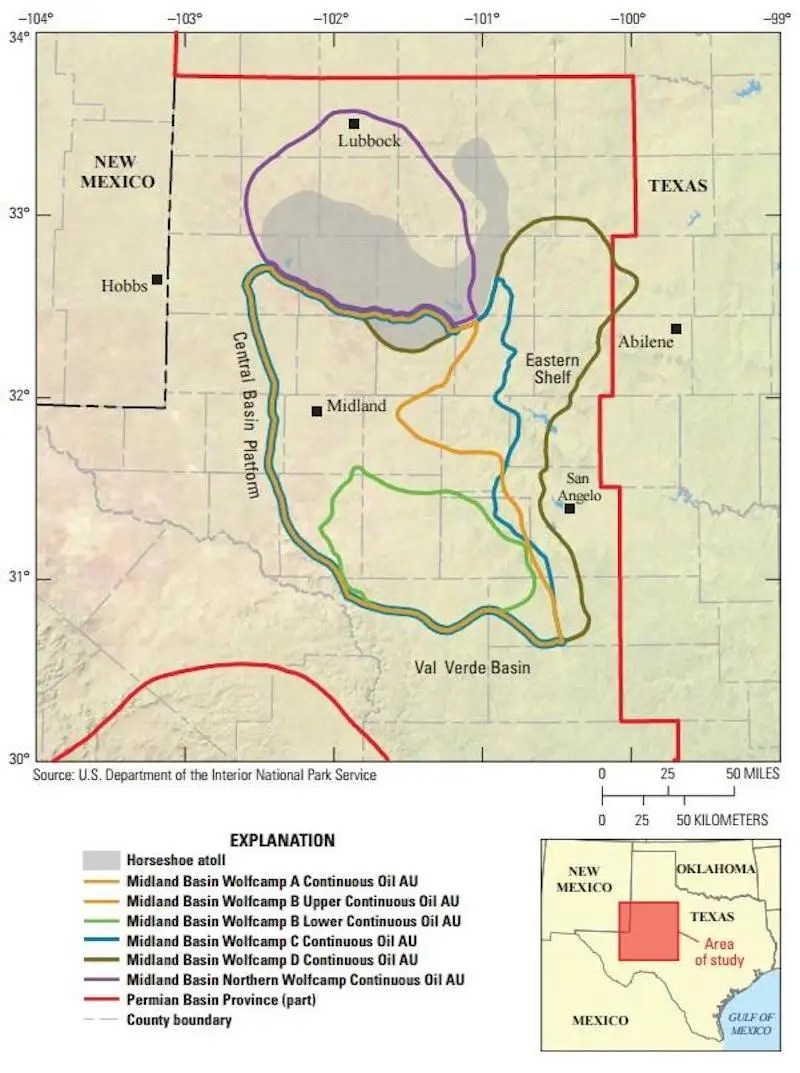 Midland Basin Map