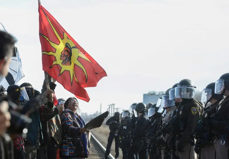 In 2016, people started staging sit-ins at Standing Rock, an Indian reservation where the Dakota Access Pipeline is slated to be built. The protests are part of the Native American rights movement, which began in the early 19th century after President Andrew Jackson's Indian Removal policy.