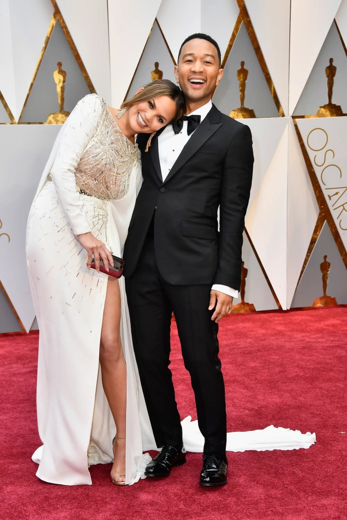 Chrissy Teigen and John Legend gave Timberlake and Biel a run for their money when it came to adorable couples.