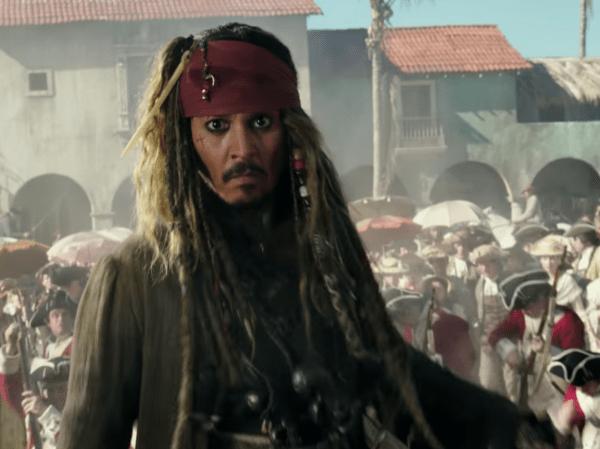 Jack Sparrow Pirates of the Caribbean 5