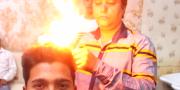 indian barber fire cut