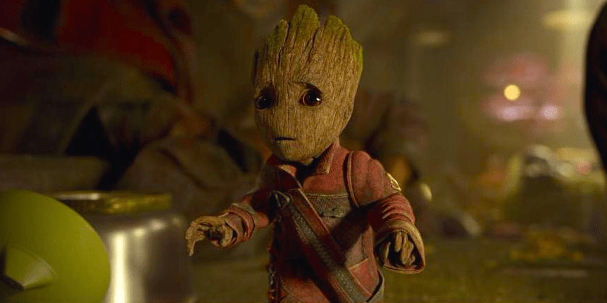 Cute Baby Sorry Hd Wallpaper Guardians Of The Galaxy Vol 2 Didn T Need Baby Groot