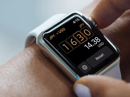 Elk, a beautiful currency conversion app with an Apple Watch version