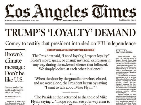 Image result for L.A. Times