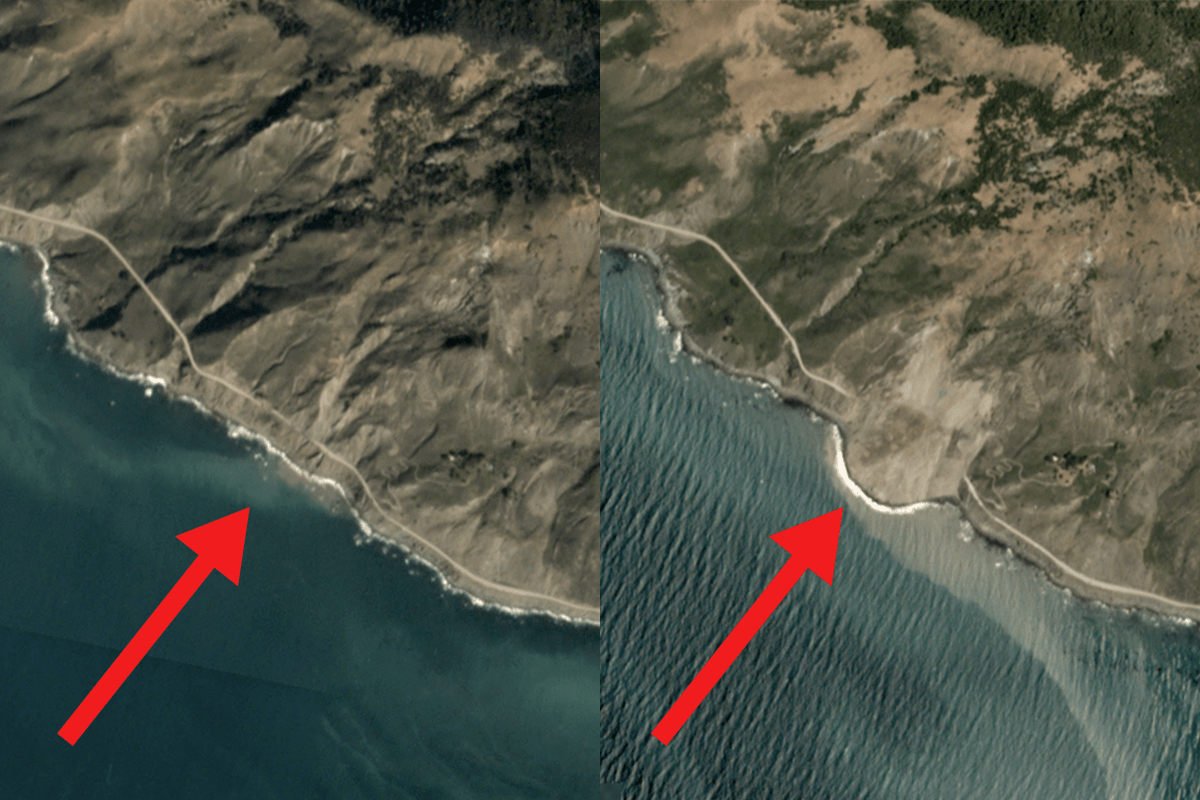 Image result for Big Sur Landslide