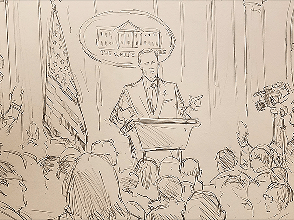 sean spicer sketch