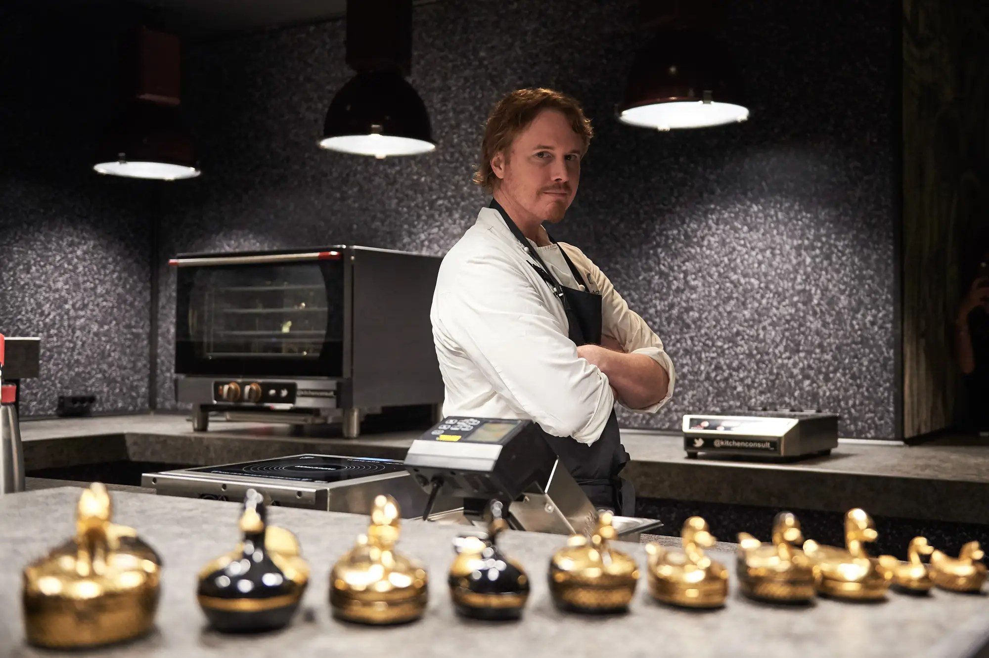 Chef Grant Achatz presents 'Alinea Madrid' restaurant on January 11, 2016
