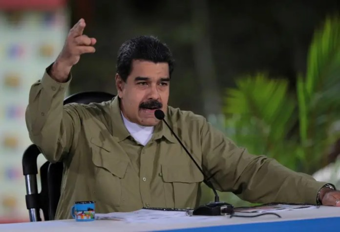 Venezuela's President Nicolas Maduro speaks during his weekly broadcast  Rosneft has been secretly helping Maduro stay afloat in Venezuela Rosneft has been secretly helping Maduro stay afloat in Venezuela us sanctions eight more venezuelan officials including chavez brother 2017 8