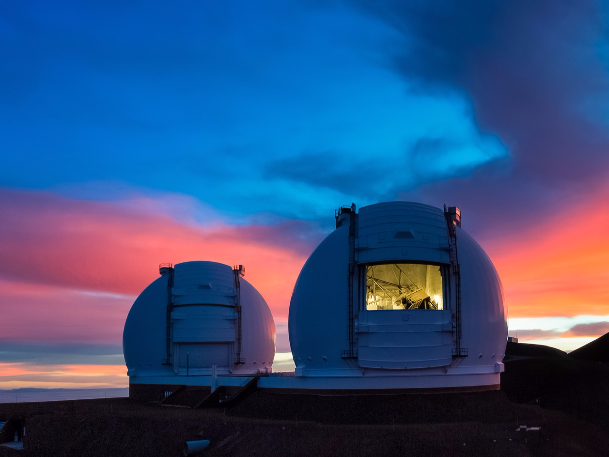 telescopes hawaii w m keck observatory