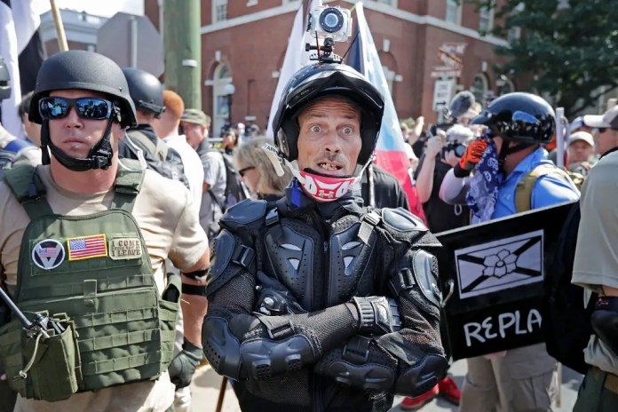 Charlottesville white nationalists, neo-Nazis and members of the 'alt-right' The US is seeing an uptick in far-right extremist violence The US is seeing an uptick in far-right extremist violence gettyimages 830759708 201