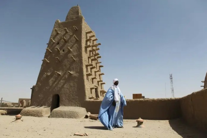 Tombs in Timbuktu's ancient Djingareyber mosque were targeted in the 2012 rampage. The city's fabled mausoleums have now been fully restored using traditional methods ICC rules jihadist liable for 2.7 mn euros for Timbuktu rampage ICC rules jihadist liable for 2.7 mn euros for Timbuktu rampage afp icc rules jihadist liable for 2
