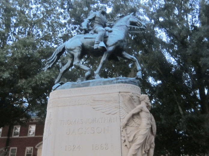 Stonewall Jackson Great-great grandsons of Stonewall Jackson: Monuments must go Great-great grandsons of Stonewall Jackson: Monuments must go 1024px stonewalljacksonmonumentcharlottesvillevaimg4221
