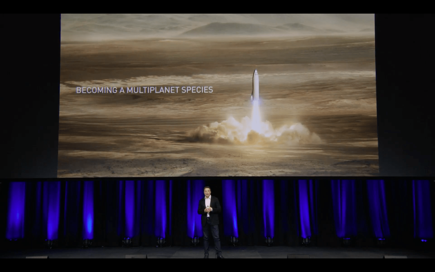 Image result for Elon Musk revealed a new plan to colonize Mars with giant reusable spaceships — here are the highlights