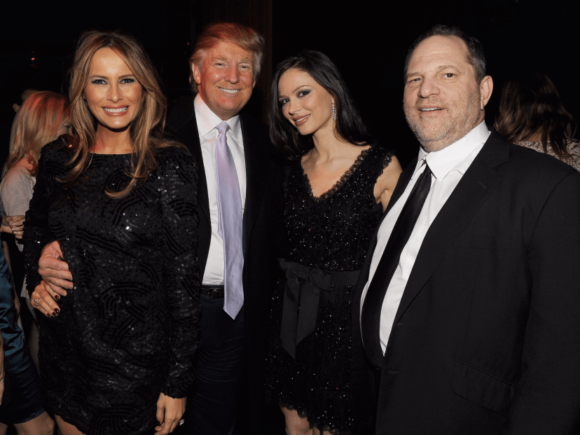 Image result for free to use image of trump and weinstein
