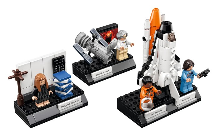 Each set will come with 231 pieces and some brand-new parts.