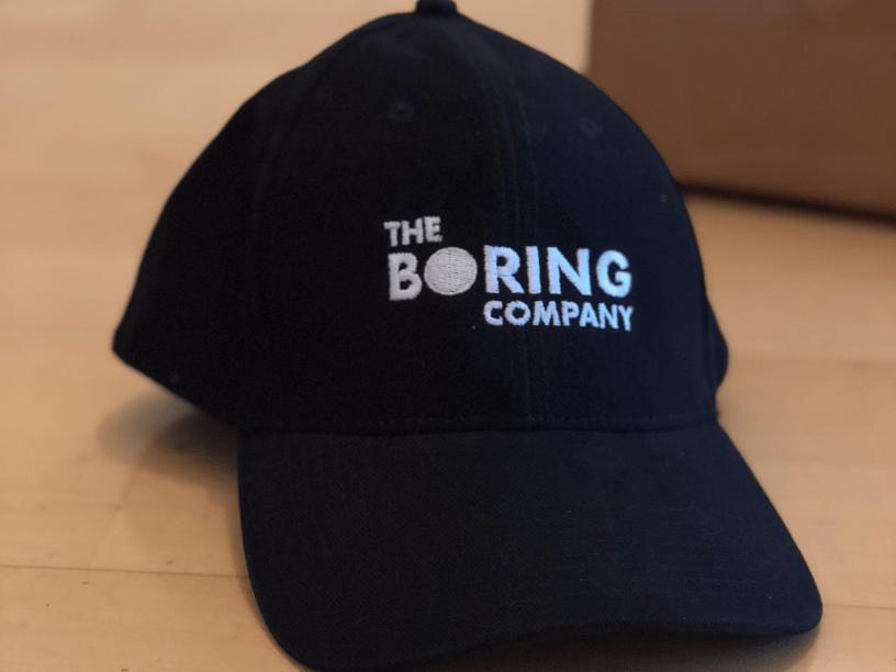 boring company hat