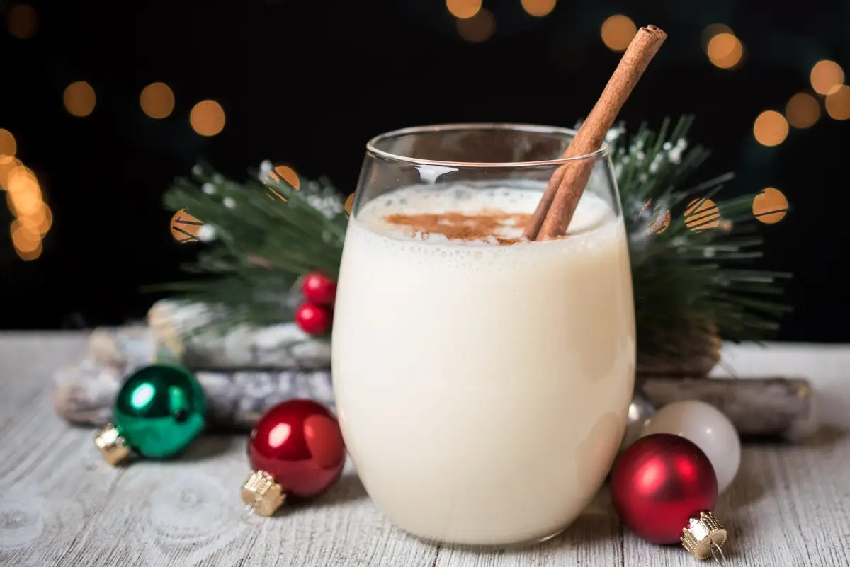 People in the United States enjoy eggnog during the holiday months, some more than others.