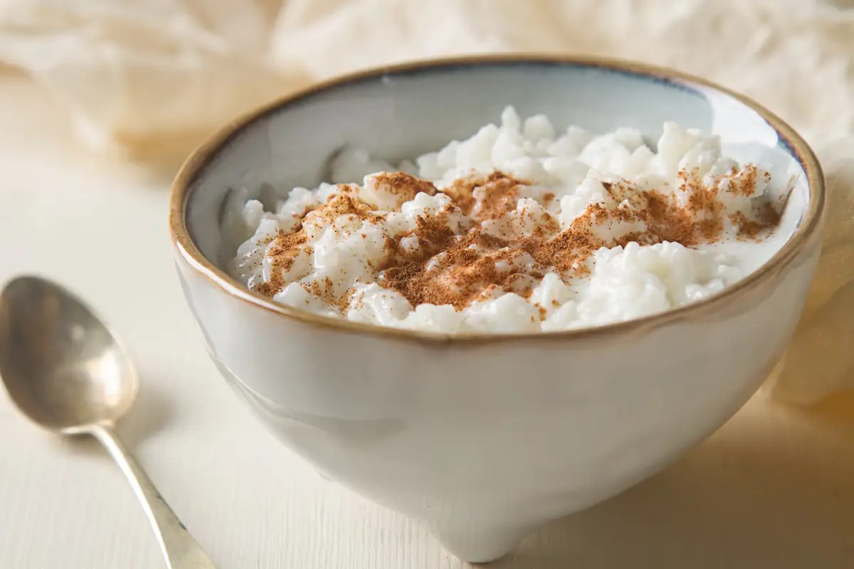 In Sweden, a rice pudding, or Risgrynsgröt, is served during Christmastime. One of the bowls will have an almond submerged in its center, and the lucky one who gets it will have good luck for the rest of the year.