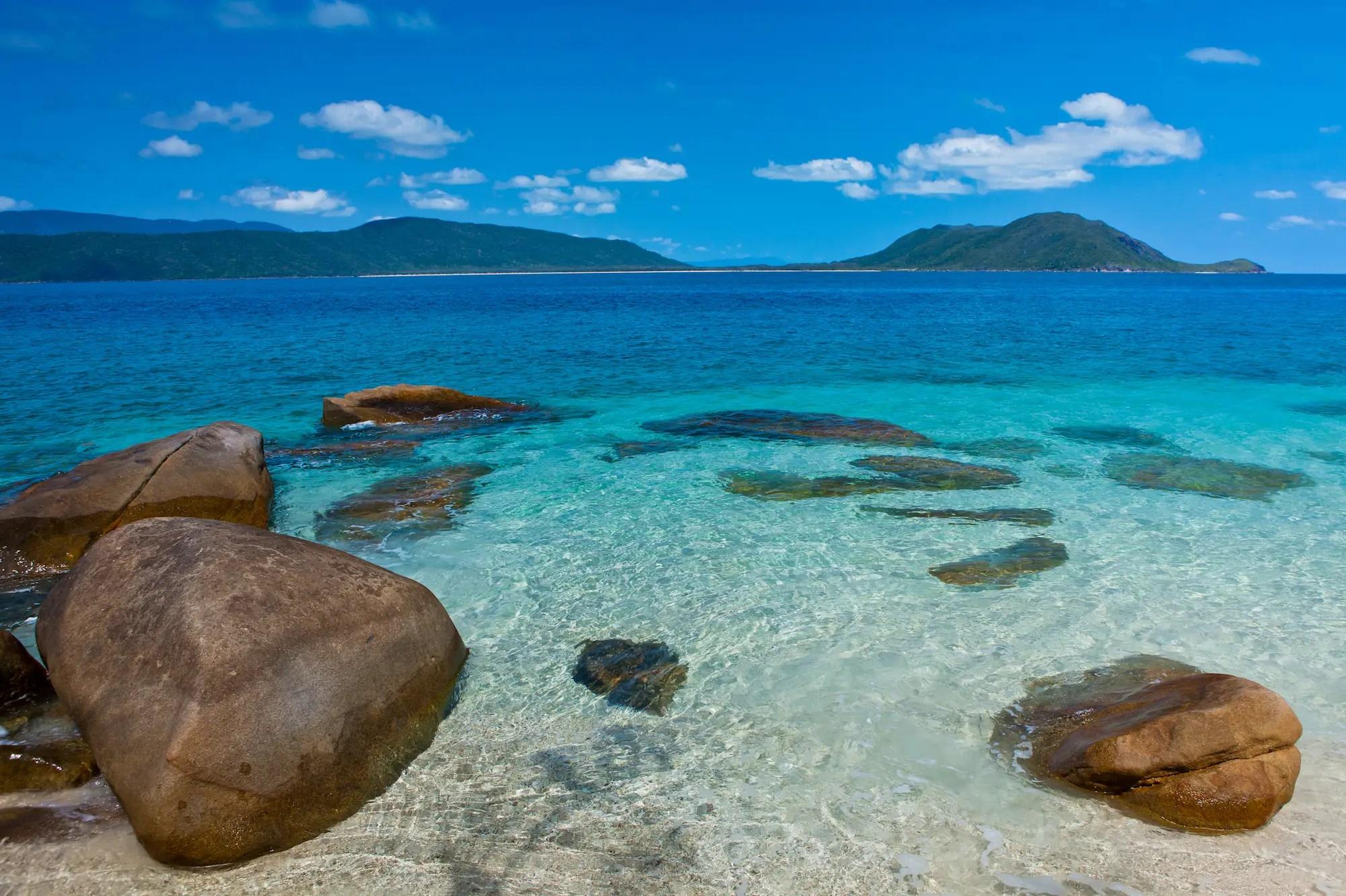 Fitzroy Island, North Queensland, Australia.