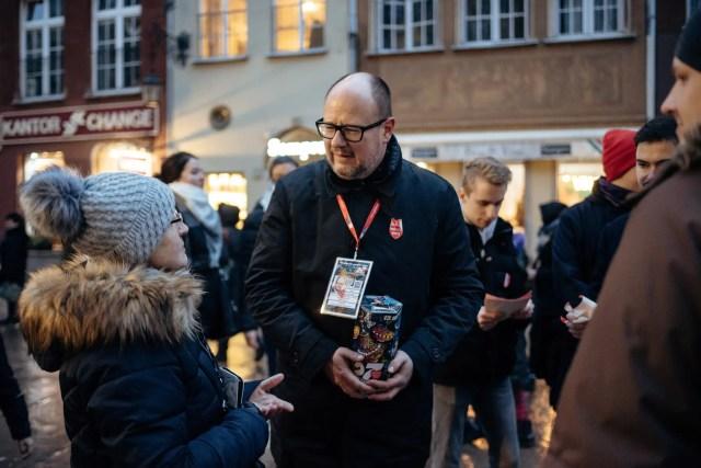 Gdansk's Mayor Pawel Adamowicz