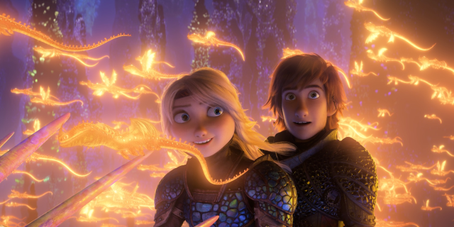How To Train Your Dragon Three: The Hidden World movie Universal Dreamworks 2