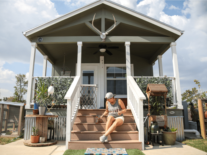 community first austin tiny home village formerly homeless 28