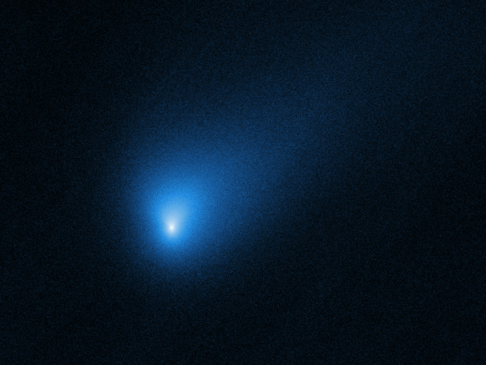 NASA's Hubble house telescope simply took unbelievable photographs of a visiting comet from one other star system