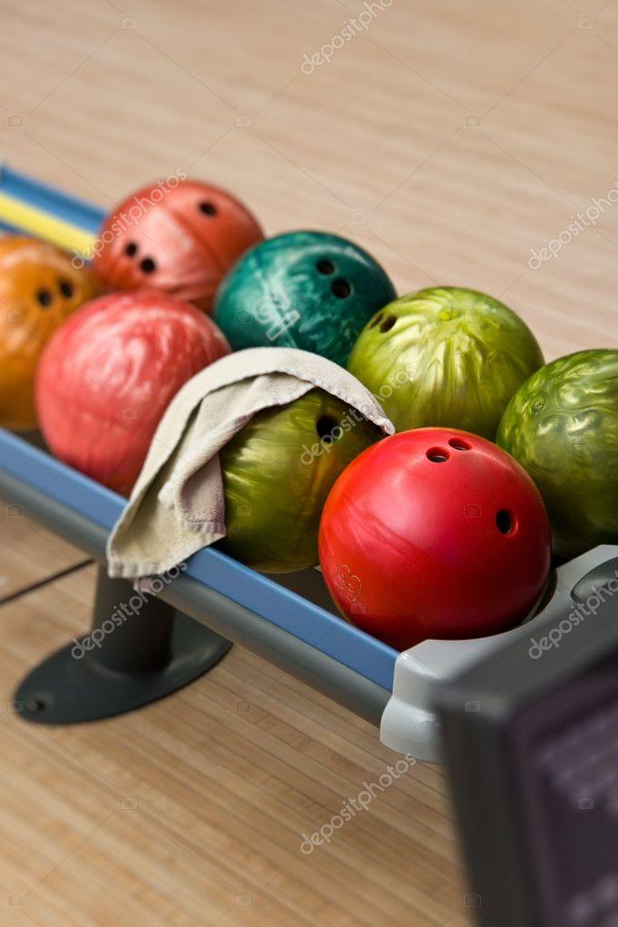 https depositphotos com 3232036 stock photo bowling balls in the rack html