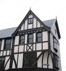 Black and White Tudor House