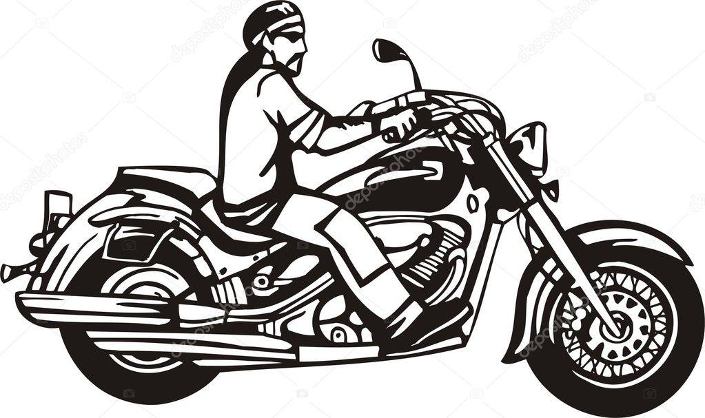 Harley. — Stock Vector © Digital-Clipart #3477948
