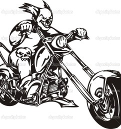 biker on motorcycle motorcycle harley tuned chromium vector by digital clipart [ 1024 x 980 Pixel ]